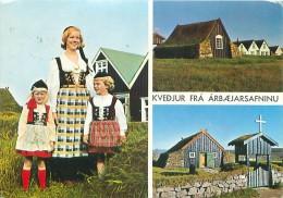 CPM - REYKJAVIK - The Arbaer Folk Museum - National Costumes, Old Churches And Farmhouse (Edda Foto, 173) - Islande