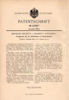 Original Patentschrift - B. Heublein In Malmerz , 1901 , Puppenkopf - Schlafaugen , Puppe , Sonneberg , Puppen !!! - Puppen