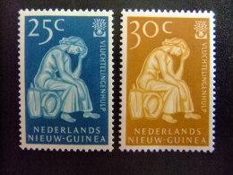 NEDERLANS -  AÑO DEL REFUGIADO 1960 - REFUGEE YEAR   -- Yvert & Tellier Nº 56 / 57 ** MNH - Refugiados