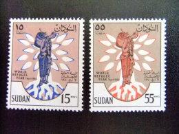 SUDAN -  AÑO DEL REFUGIADO 1960 - WORLD REFUGEE YEAR   -- Yvert & Tellier Nº 125 / 126 ** MNH - Refugiados
