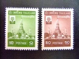 THAILAND -  AÑO DEL REFUGIADO 1960 - WORLD REFUGEE YEAR   -- Yvert & Tellier Nº 323 / 324 ** MNH - Refugiados