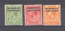 GB  -  Maroc  -  Tous Les Bureaux  :  Yv  18A+B-19  * - Oficinas En  Marruecos / Tanger : (...-1958