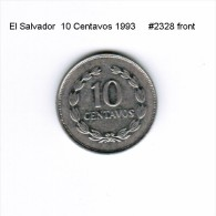 EL SALVADOR    10  CENTAVOS  1993  (KM # 155a) - Salvador