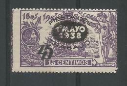 Don Quichotte 45c S 15c Violet (tipell)mh* - 1931-50 Neufs