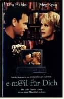 VHS Video ,  E-m@il Für Dich  -  Mit : Tom Hanks (Joe Fox), Meg Ryan (Kathleen Kelly)  -  Von 1999 - Romantici