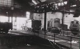 Photo Dépot Locomotives De YORK En 1967 Cliché Schnabel - Eisenbahnen