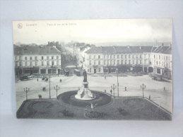 Louvain. Place Et Rue De La Station. 1913. - Leuven