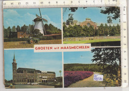 PO0838C# BELGIO - MAASMECHELEN - MULINI A VENTO - TRATTORI  VG - Maasmechelen
