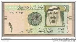 Arabia Saudita - Banconota Non Circolata Da 1 Ryal - 2007 - Arabia Saudita