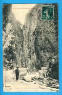 CP, 66, GORGES De CARANCA, Un Barrage Dans Les Gorges, Voyagé - France