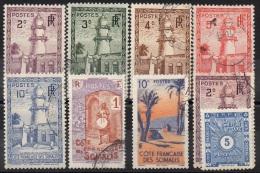 COTE  DES  SOMALIES  N°LOT__OBL VOIR  SCAN - Côte Française Des Somalis (1894-1967)