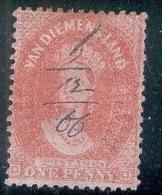 TASMANIA_Sg 80 Perf 12,5 - 1853-1912 Tasmania