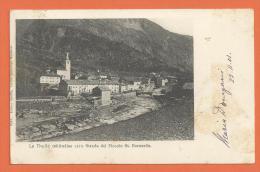 HA736, La Thuile , Starda Del Piccolo St. Bernardo, Route Du Petit St. Bernard, Précurseur, Circulée 1901 - Italia