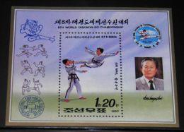 Korea - 1992 Taekwondo Block MNH__(THB-4481) - Korea (Noord)