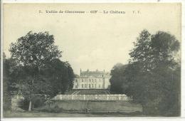 91, Essonne, GIF-Sur-YVETTE, Vallée De Chevreuse, Le Chateau, Scan Recto-Verso - Gif Sur Yvette