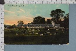 S7086 DERRY New Hampshire HOODS FARM VG FP - Derry Village