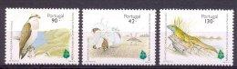 Naa1184 FAUNA VOGELS REPTIEL HAGEDIS ADELAAR EAGLE BUSTARD LIZARD REPTILE BIRDS VÖGEL AVES OISEAUX PORTUGAL 1995 PF/MNH - Collections, Lots & Séries