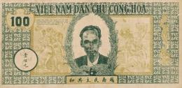 Vietnam,  North - Vietnam,  Pick Nr. 8 B , 100 Dong, 1946, RARE ! - Vietnam