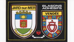 CPM JARD SUR MER Blasons Adhésifs - Otros Municipios