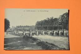 CAEN (14) Le Nouveau Barrage - F. MAILLAUT N°95 - Non Circulée - TBE - Promeneurs - Caen