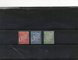 3 Valeurs Taxe N° 12/14 Neuf * - Unused Stamps