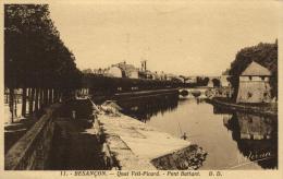 68499 - Besançon (25) Quai Veil Picard     Pont Battant - Besancon