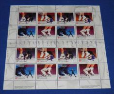 Canada - 2001 Figure Skating Sheet MNH__(THB-1990) - Full Sheets & Multiples