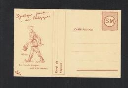 SM Carte Postale Quelque Part En Belgique - Stamped Stationery