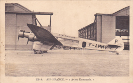 109-A  AIR-FRANCE : Avion Emeraude - 1919-1938: Interbellum