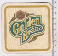 Romanian Beer Coaster  - Golden Brau - Sous-bocks