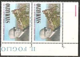 San Marino 1984 - 1144 - Pertini - 2x - MNH** - Saint-Marin
