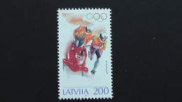 Latvia - 20.4.1994 - Winter Olympic Games, Lillehammer - Mi.Nr. 368** MNH - Lettland