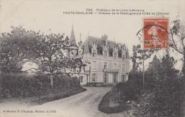 ¤¤   299  -  HAUTE-GOULAINE  -  Château De La Châtaigneraie (Côté De L'Entrée )  ¤¤ - Haute-Goulaine