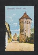 Romania PPC Sibiu Hermannstadt Harteneck Towers - Roemenië