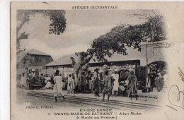Afrique  Noire     Gambie   Ste Marie De  Bathurst   Le Marché Aux Provisions  ( Voir Scan) - Gambie