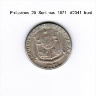 PHILIPPINES    25  SENTIMOS  1971  (KM # 199) - Philippines