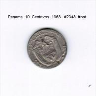 PANAMA    10  CENTAVOS  1968  (KM # 10a) - Panama