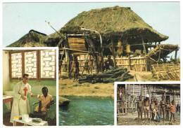 Missione S.Camillo ZINVIE´ BENIN AFRICA-Mission Etnic-Missionari-Missionary-Missionnaire- - Benin