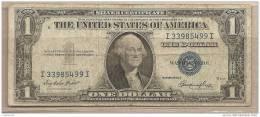 USA - Banconota Circolata Da 1 Dollaro - 1935 - Certificati D'Argento (1928-1957)