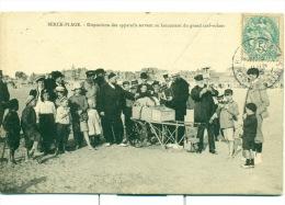Berck-Plage. - Disposition Des Appareils Servant Au Lancement Du Grand Cerf-volant. - Berck