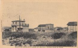 62 SAINTE CECILE PLAGE ( Par CAMIERS )   Les VILLAS Dans La DUNE En 1936 - Non Classés