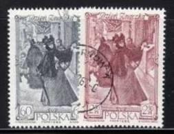 POLAND 1962 MICHEL NO: 1353-1354  USED /zx/ - Gebruikt