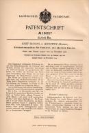 Original Patentschrift - J. Skoupil In Lettowitz / Letovice , 1901 , Schleudermaschine Für Färberei , Schleuder !!! - Maschinen