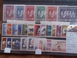 344/9+350/61+362/4+365/6+367/71 Neufs Sans Charnières  COB : 24,50€ - 1947-60: Mint/hinged