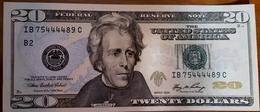 USA STATI UNITI AMERICA 20 DOLLARI 2006 $ SEE SCAN AUNC - Etats-Unis