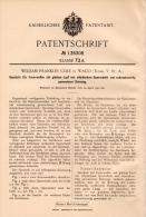 Original Patentschrift - W.F. Cole In Waco , Texas , 1901 , Bullet For Gun, Rifle, Pistol , Cartridge , Munitions !!! - Documents