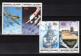 Marshall Islands - 1991 WW2 Japanese Attack MNH__(TH-2663) - Marshallinseln