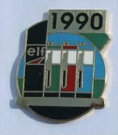 Pin's ELF - 1990 - Pompes à Essence - Remark - C870 - Fuels