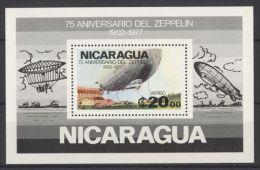 Nicaragua - 1977 Zeppelin Block MNH__(TH-2146) - Nicaragua