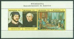 Nicaragua - 1986 Columbus Block (2) MNH__(TH-9627) - Nicaragua